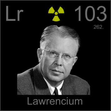 The Periodic Table - Lawrencium